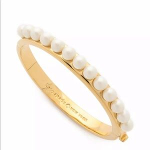 NWT Kate Spade Pearly Delight Studded Bracelet